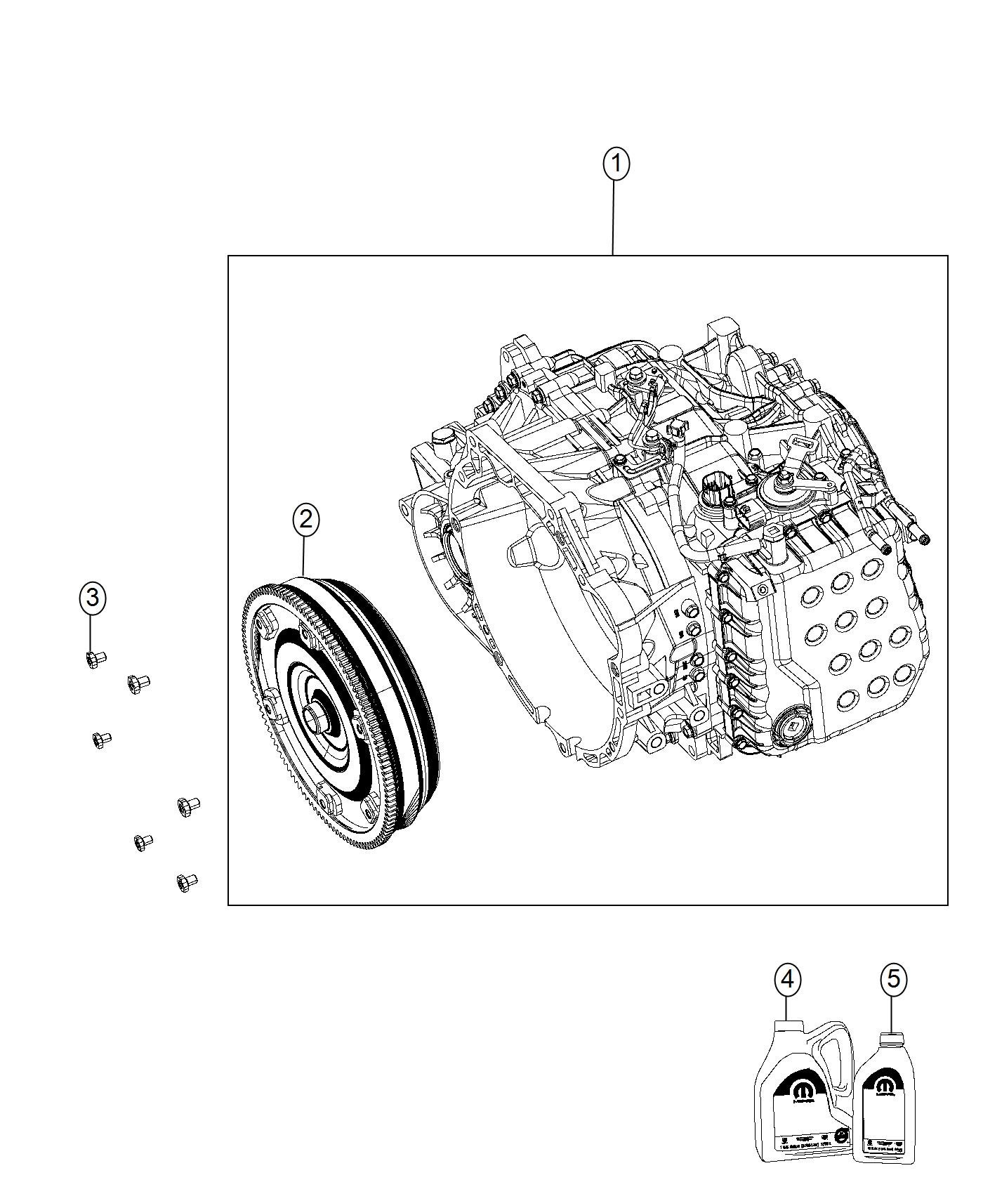 Jeep Compass Transmission With Torque Converter