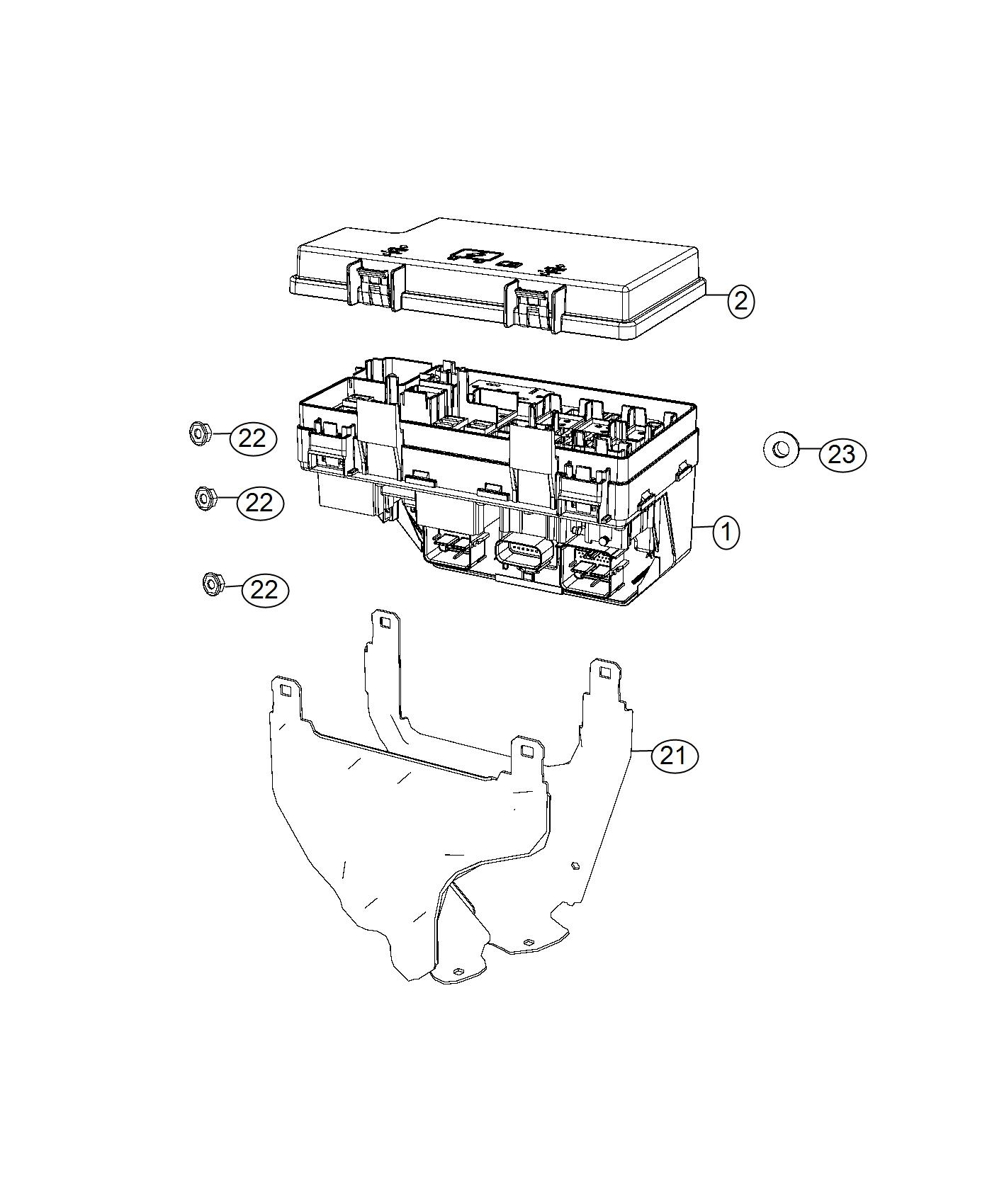 Dodge Grand Caravan Cover Totally Integrated Power Module