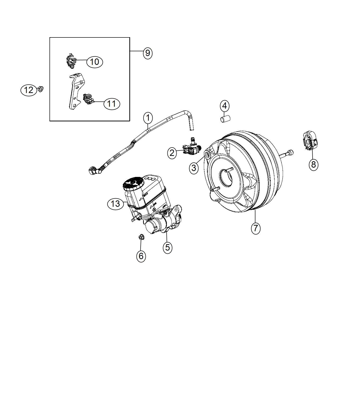 Jeep Cherokee Valve Brake Booster Check