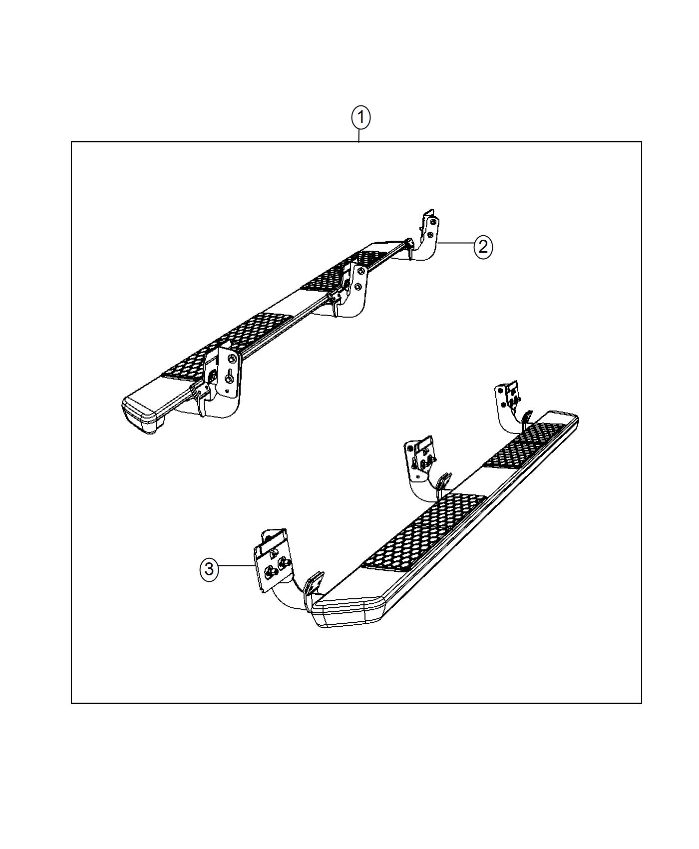 Ram Running Board Left