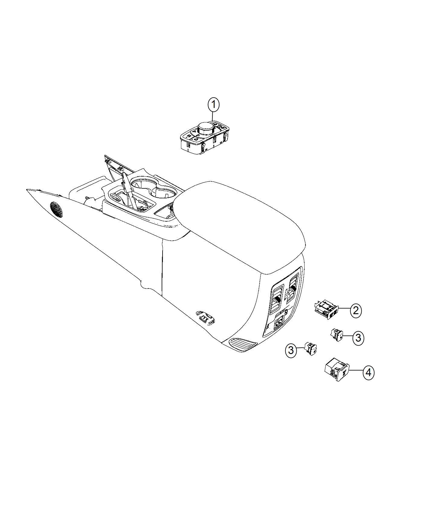 Jeep Grand Cherokee Switch Transfer Case