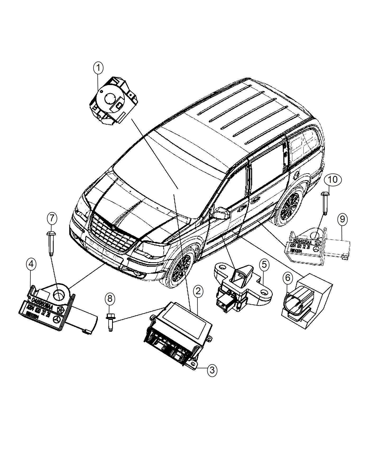 Dodge Grand Caravan Sensor Pressure Modulesupp