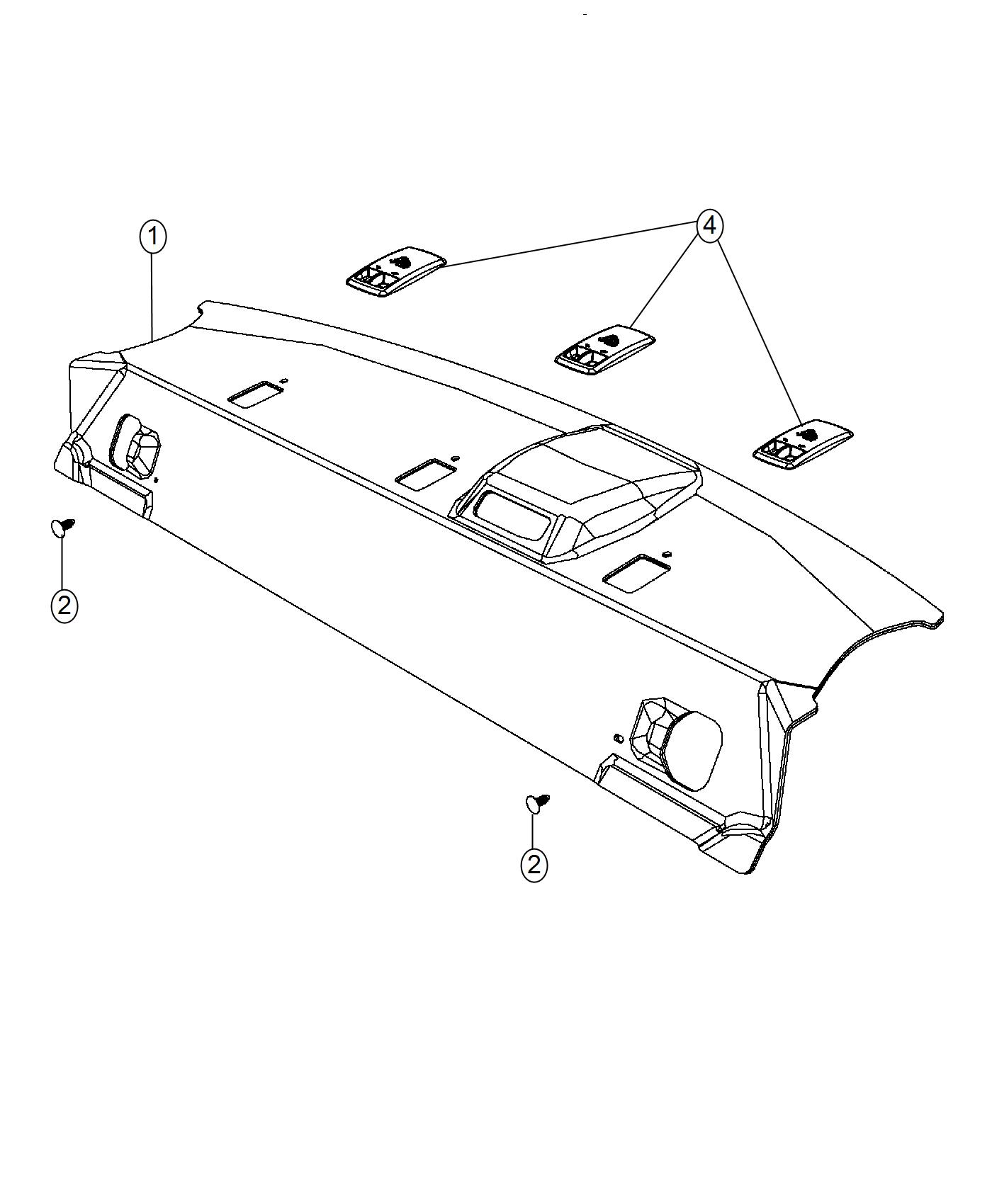 Dodge Cover Anchor Export Trim No Description