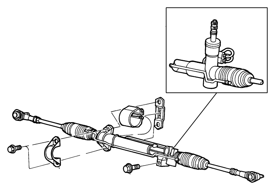 Chrysler Town Amp Country End Tie Rod Steeringepic