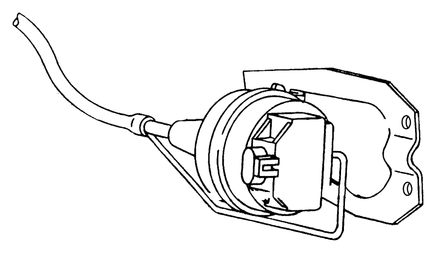 Dodge Ram Harness Vacuum Speed Control 5 9l