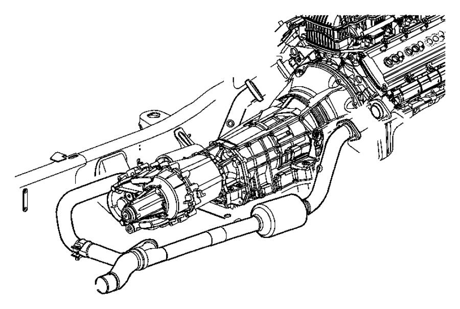 Dodge Insulator Isolator Exhaust Exhaust Support