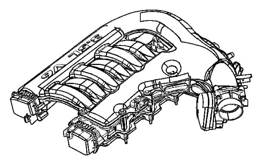 Dodge Challenger Gasket Throttle Body 4 0l V6 Sohc