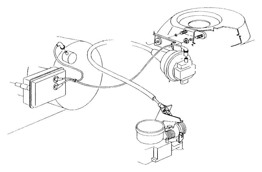 Chrysler Sebring Harness Vacuum