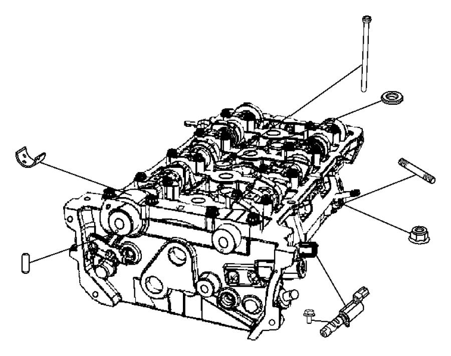 Jeep Patriot Intake Manifold 2 4l 2 4l I4 Dohc 16v