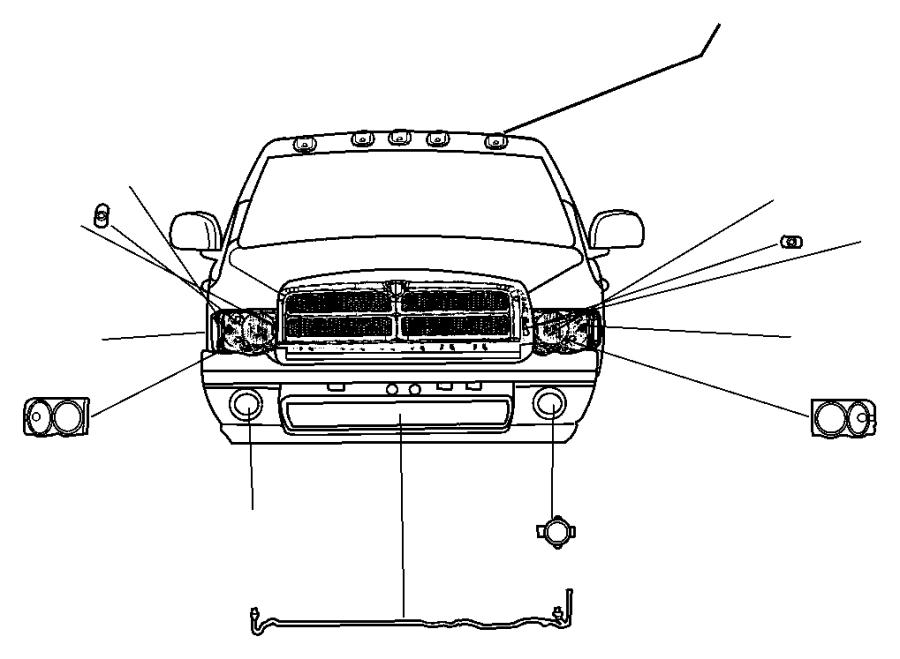 Dodge Ram Wiring Fog Lamp Jumper Fog Lamp Bulb