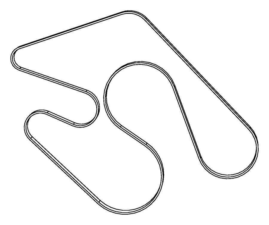 Dodge Belt Accessory Drive Serpentine Surpentine