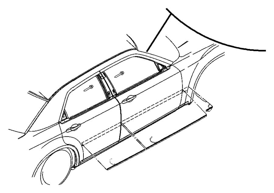 Dodge Magnum Srt8 Srt8 6 1l Hemi Srt V8 Molding
