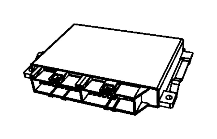 Jeep Wrangler Module Transmission Control
