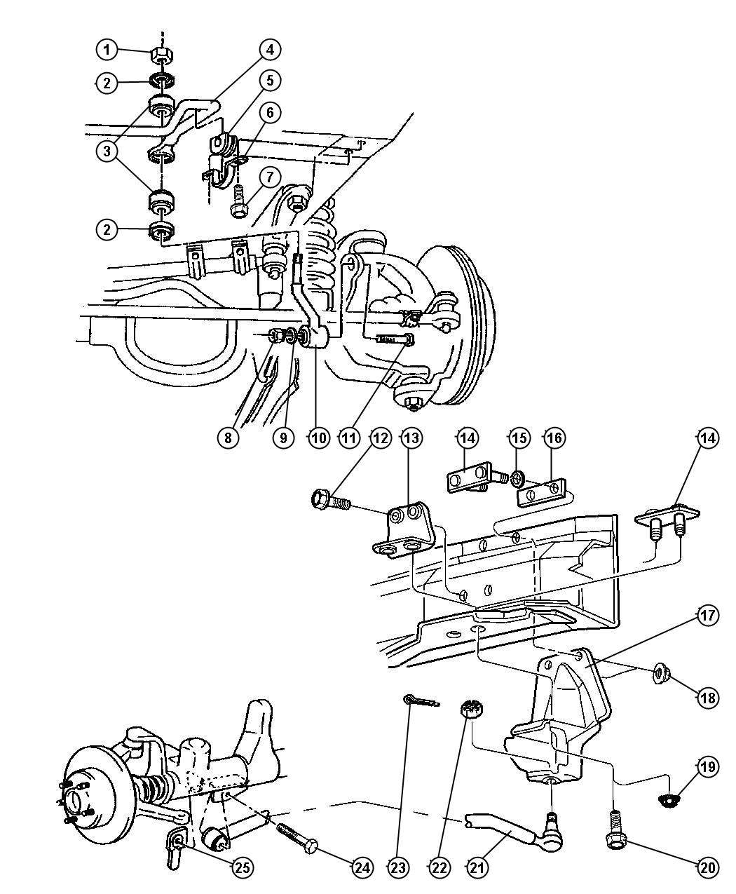 28 Jeep Cherokee Front Suspension Diagram
