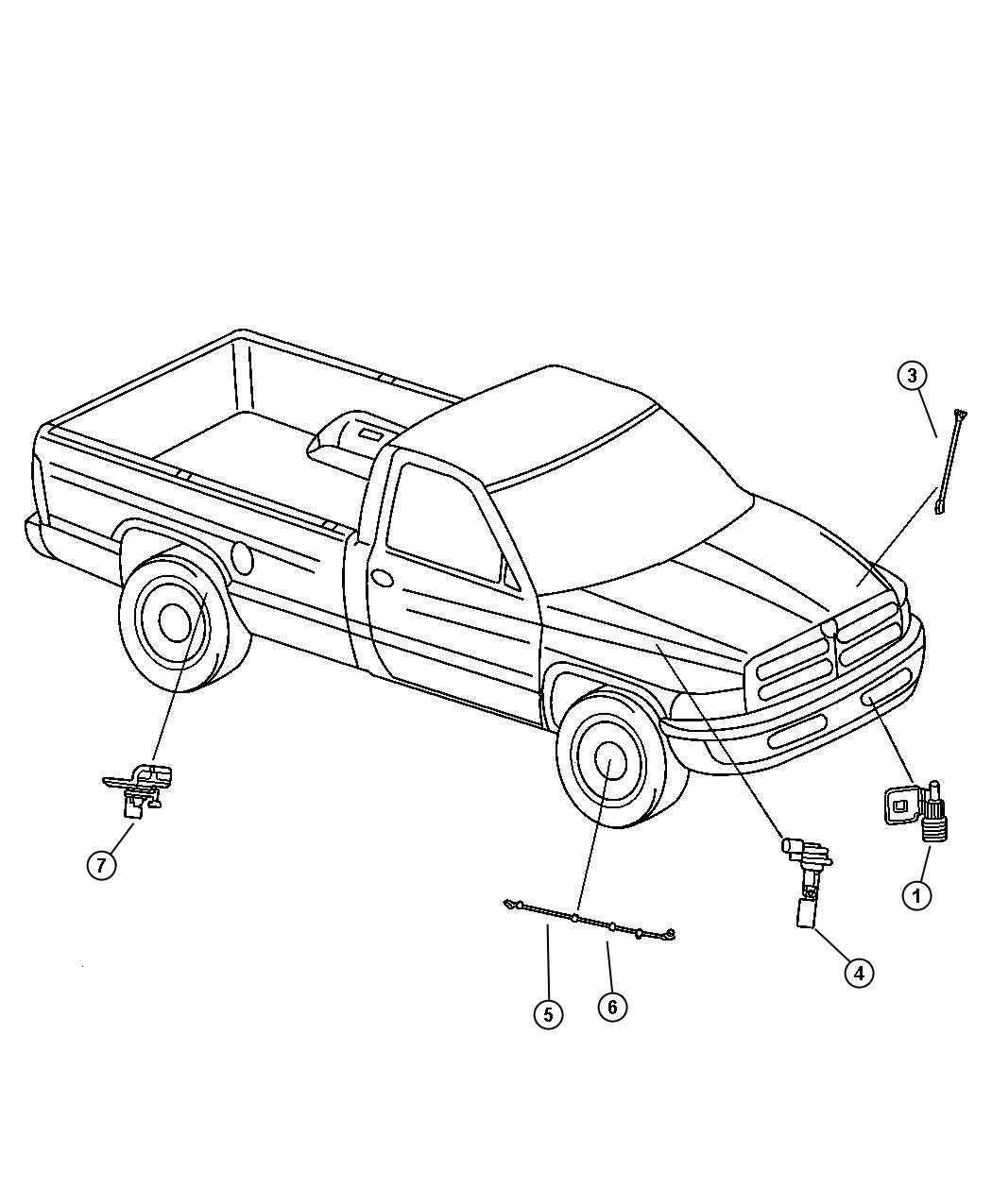 Chrysler Town Amp Country Sensor Ambient Temperature