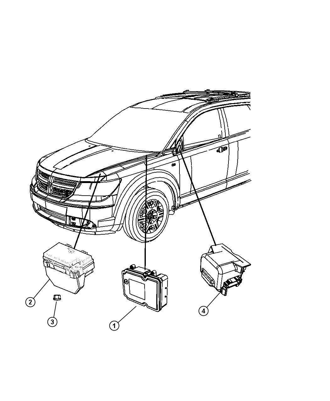 Dodge Journey Module Totally Integrated Power