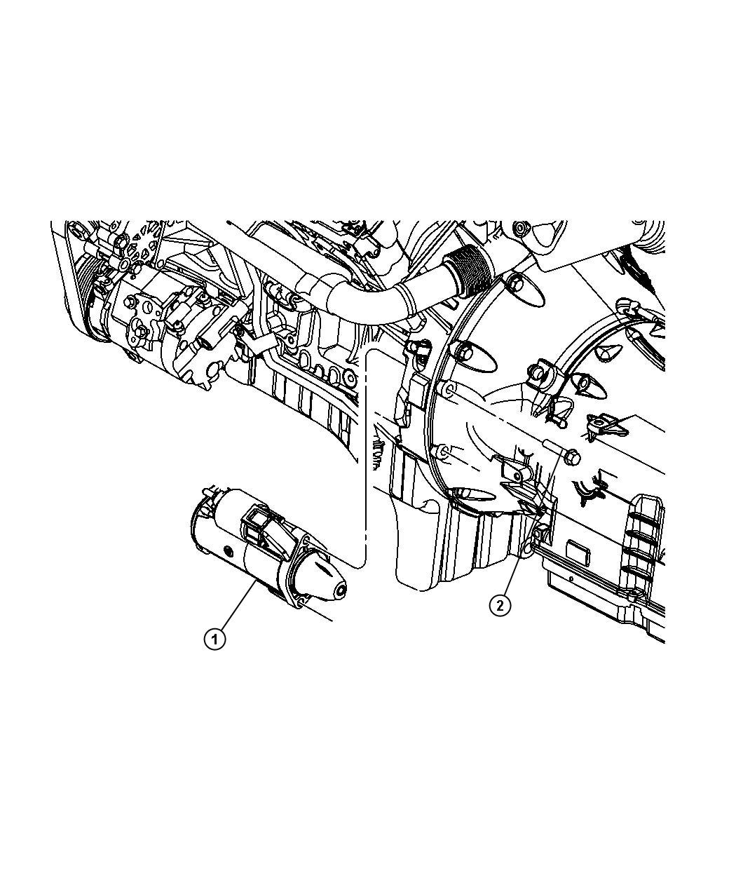 Jeep Grand Cherokee Starter Engine Bosch Maintenance