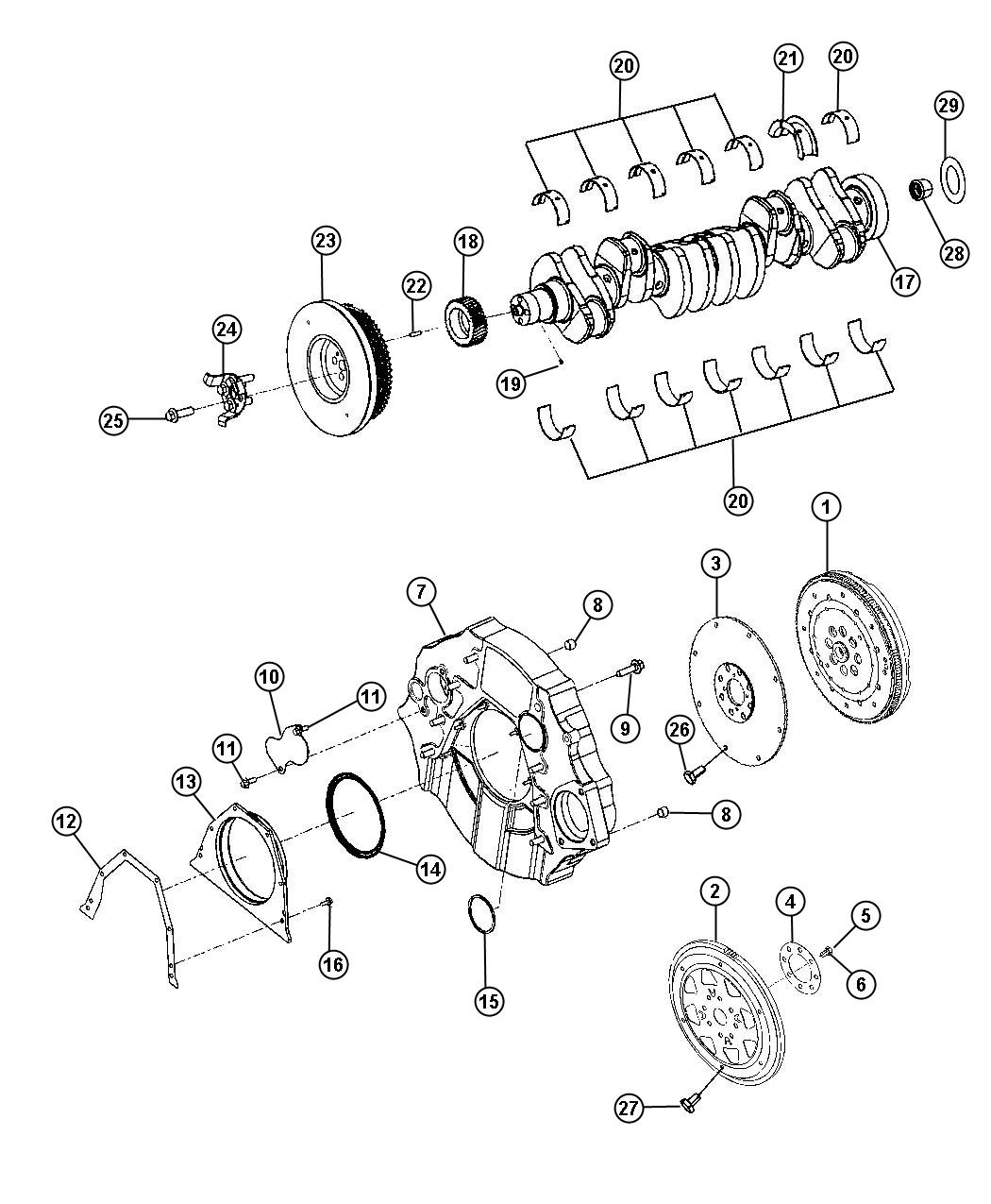 Dodge Ram Adapter Transmission Automatic