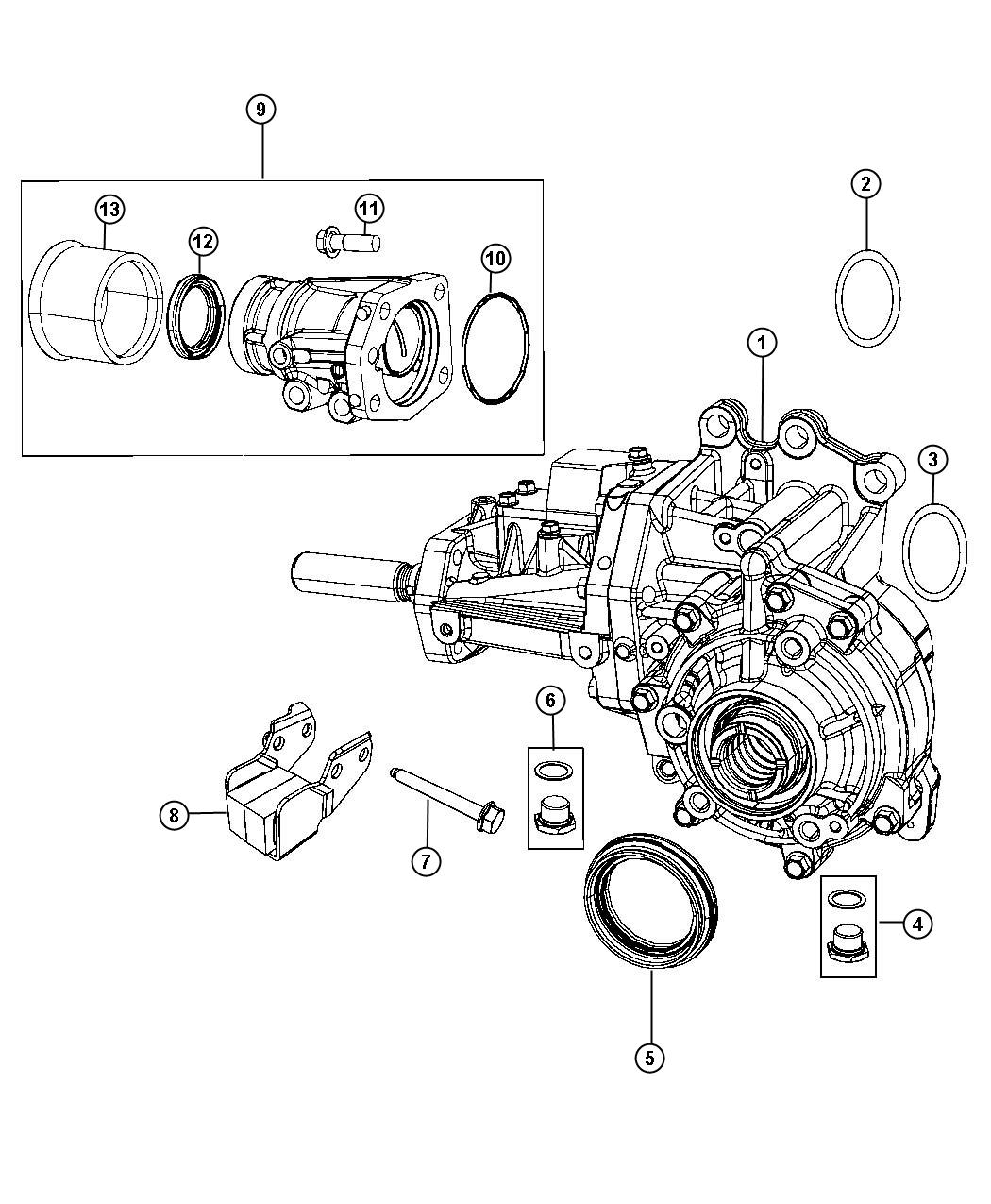 Jeep Compass Power Transfer Unit Train Module Manual