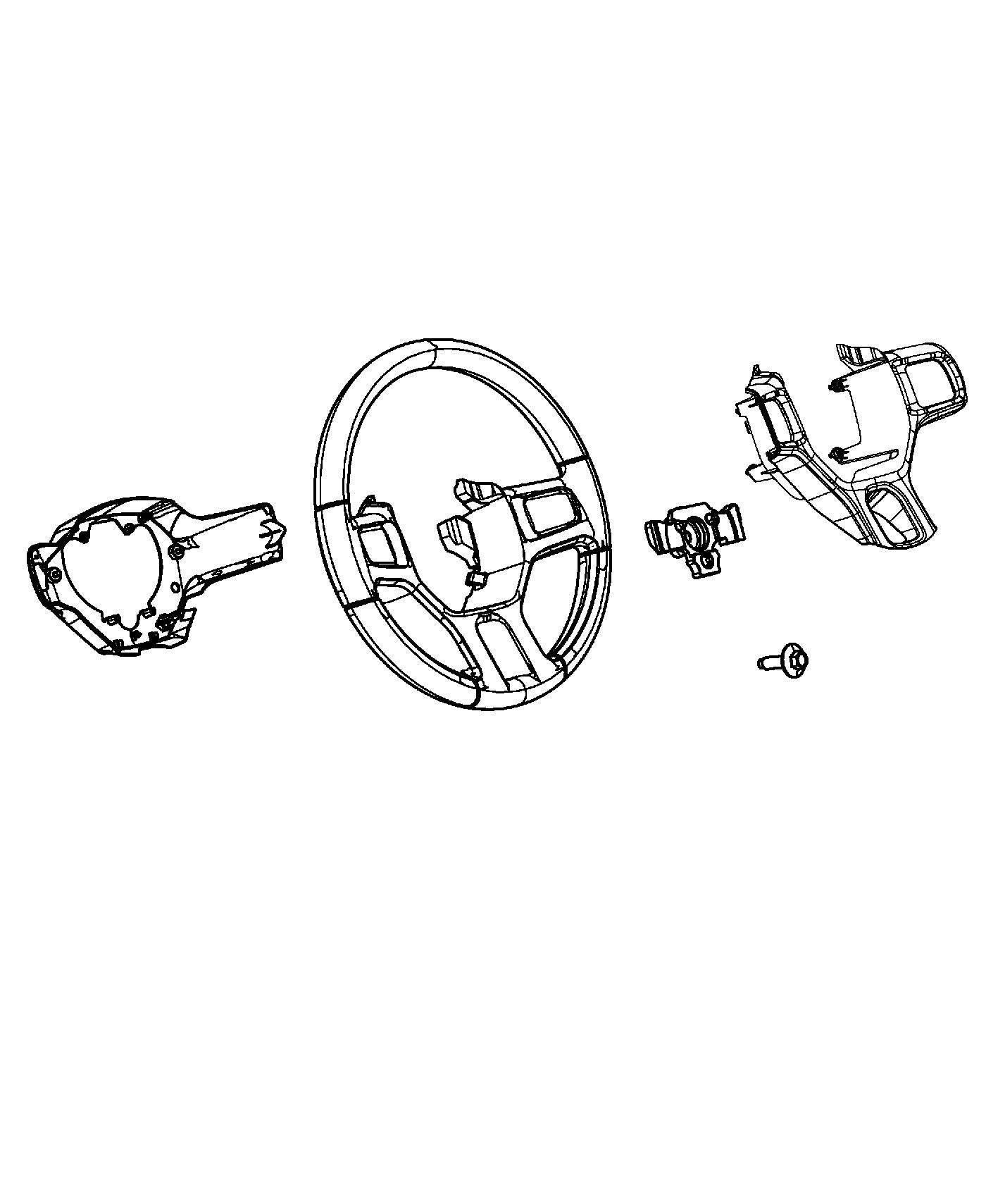 Bezel Steering Wheel Switch Trim No Description Available Color
