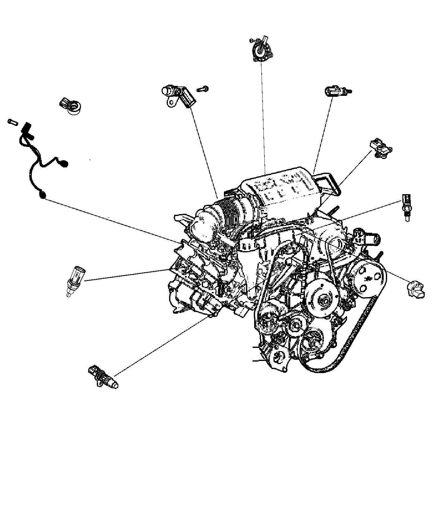 Jeep Grand Cherokee Wiring Used For Knock Oil