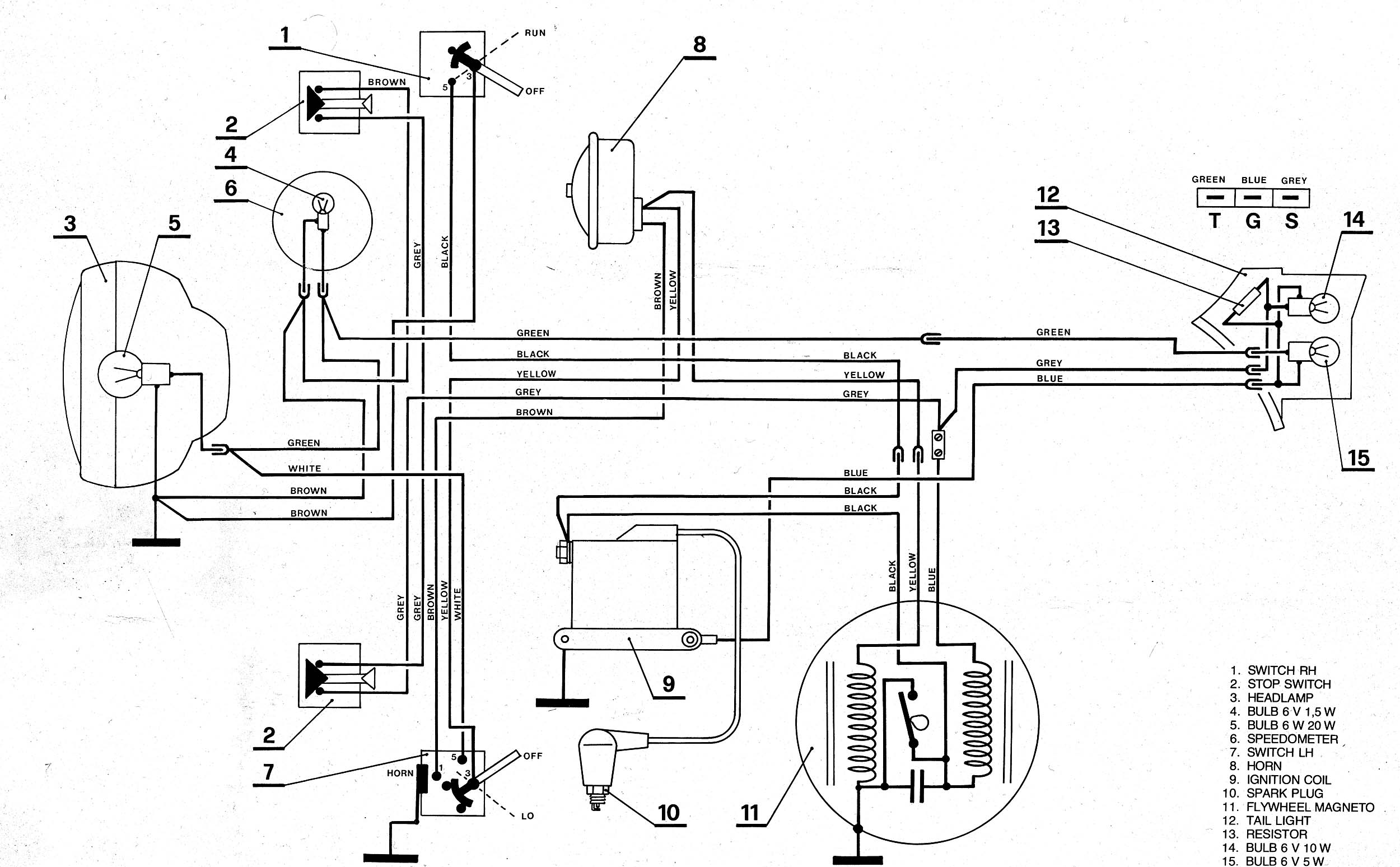 Re Tomos A3 Wiring Diagram