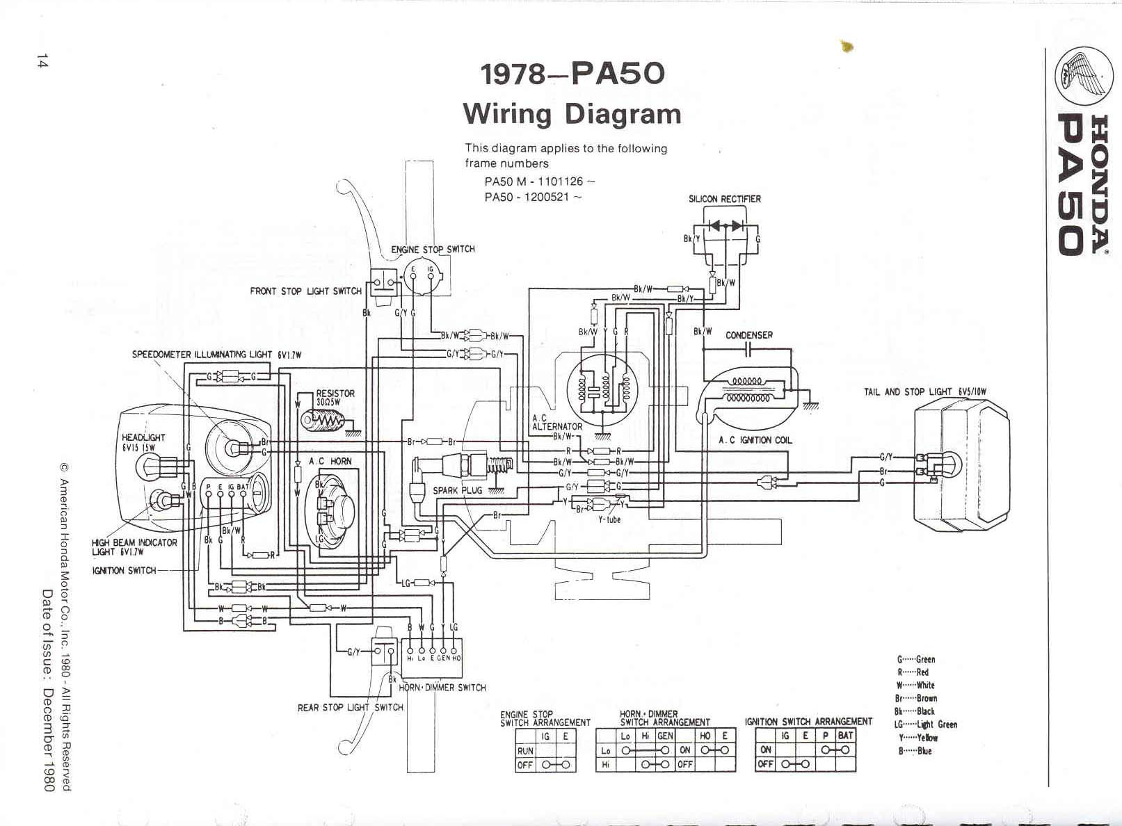 Re 78 Honda Express Wiring Diagram