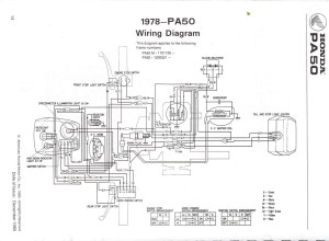 Re: Wiring diagram 1980 Honda PA 50