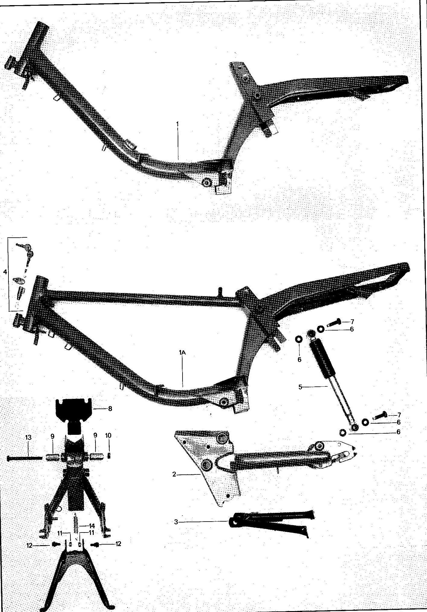 Batavus M48 Body Parts 4 Subcategories