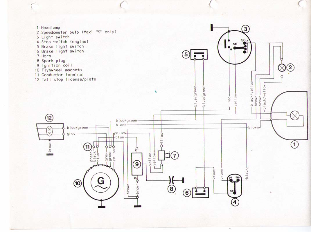 Puch Wiring Diagram