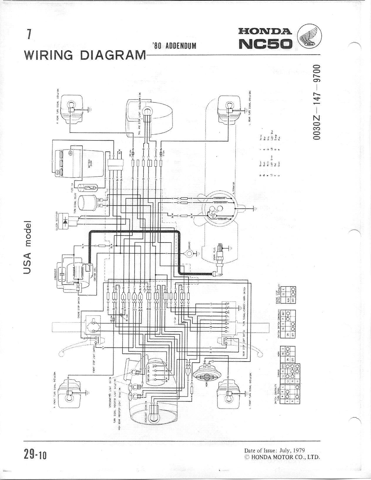 Honda Express Nc50 Wiring Questions