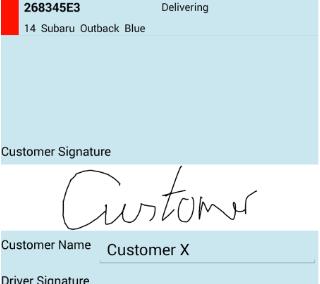 mobil signature capture