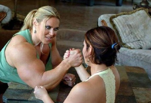 How To Dominate An Arm-Wrestling Match