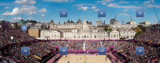 Beach Volleyball Gigapan