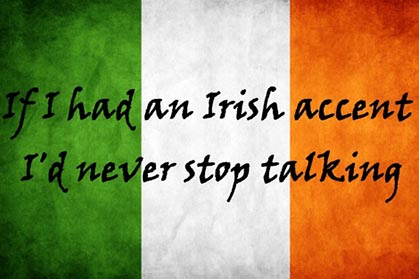 A guide to speaking with an Irish accent