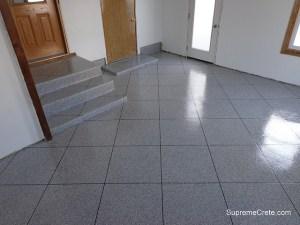 Sticky tile floors