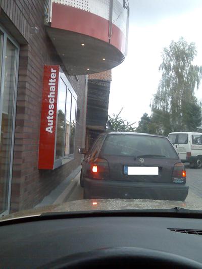 Drive-In bei Essmann