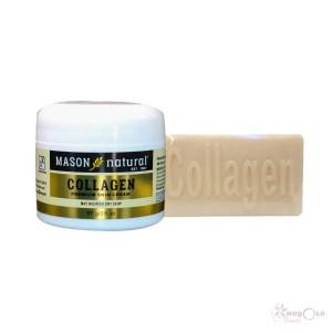 savon et crème au collagen