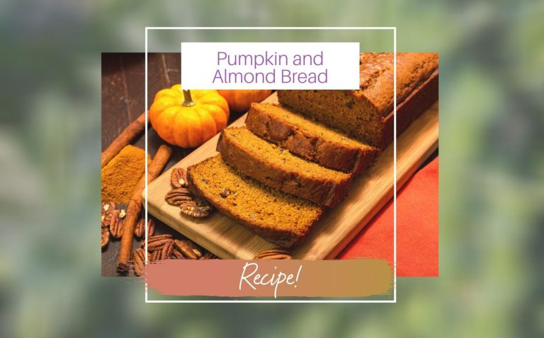 Pumpkin and Almond Bread Recipe