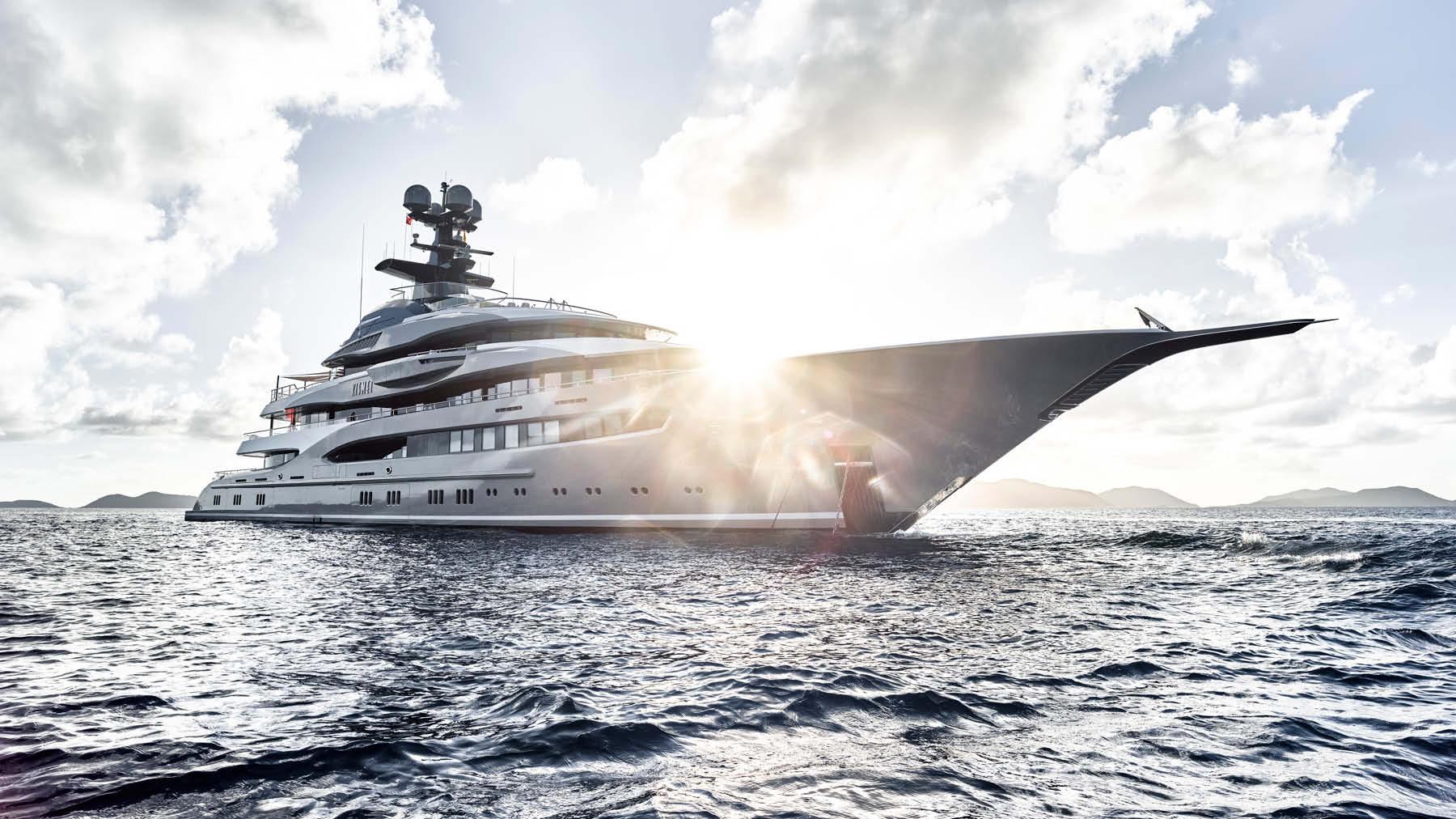 Luxury Yacht Brokerage Sales Charter Construction