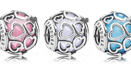 0f1904b8d Pandora SS17 Encased in Love Charms & Open Bangles Update | Mora Pandora