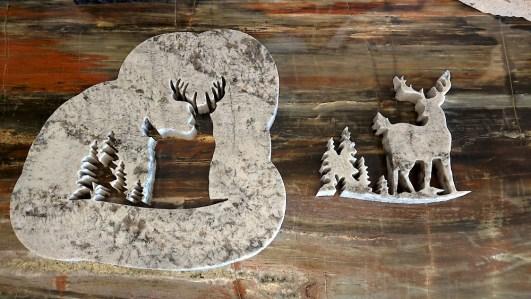Dave Paxton deer cutout