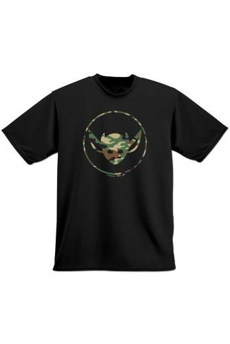 MORBID LA Clothing Streetwear Rad Camo IMP Black Tshirt