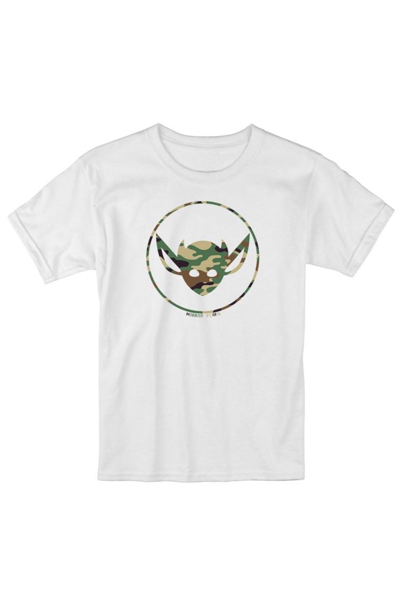 MORBID LA Clothing Streetwear Rad Camo IMP White Tshirt