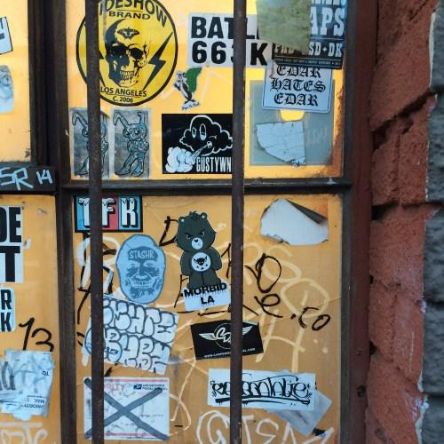 MORBID LA Clothing Streetwear Streetart Sticker Decal Art