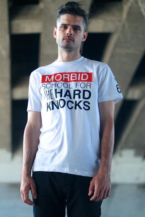 Morbid Fiber Los Angeles MFLA Streetwear Hard Knocks Tee