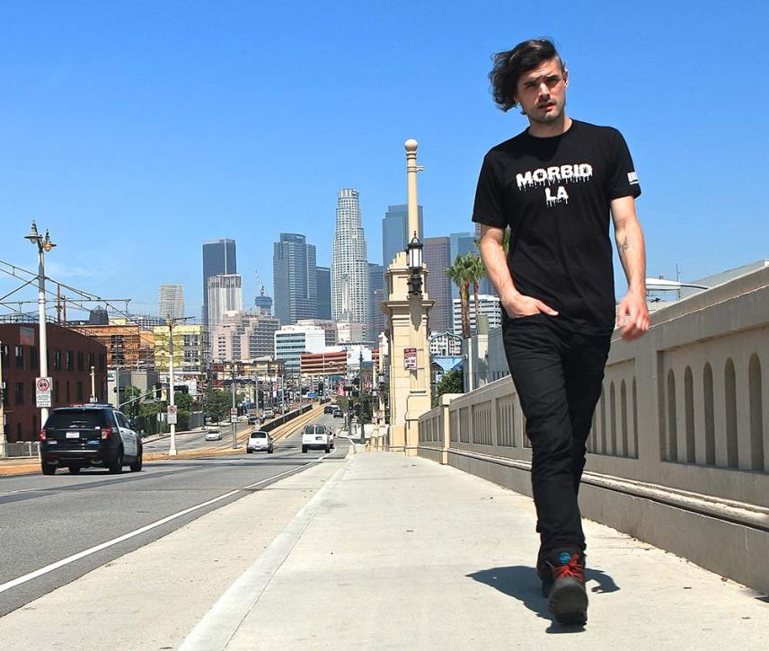 Morbid Fiber Los Angeles MFLA Streetwear Morbid LA Drip Tee