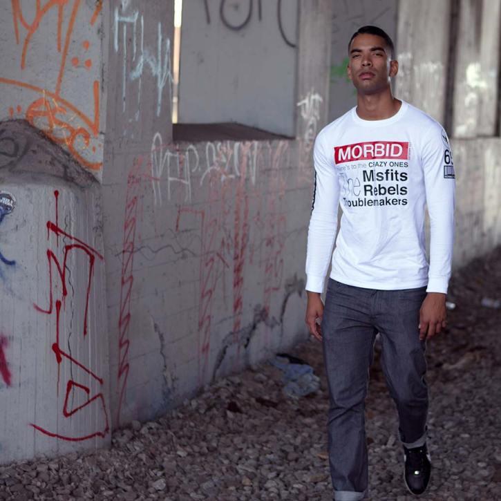 Morbid Fiber Los Angeles Streetwear Crazy Long Sleeve