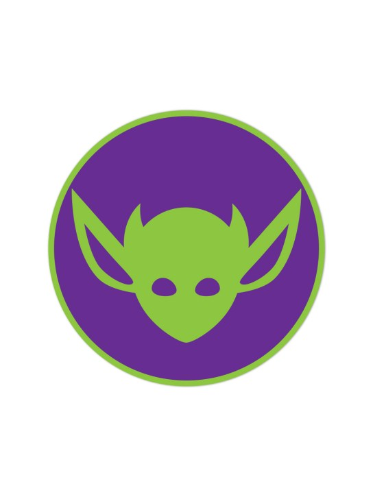 Morbid LA Clothing Streetwear Fashion Joker Art Deco IMP Sticker Decal