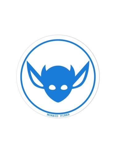 Morbid LA Streetwear Blue IMP Head Sticker Decals